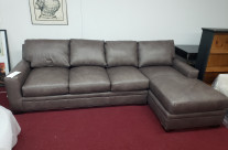 Braddington-Young Leather Sectional Sale Price: $2499.00 + delivery